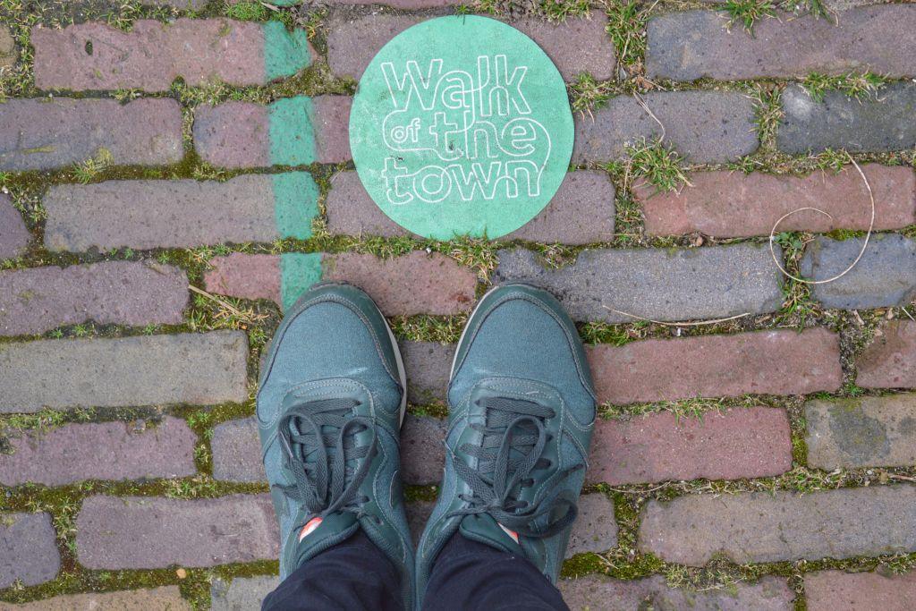 Groene lijn stadswandeling Nijmegen