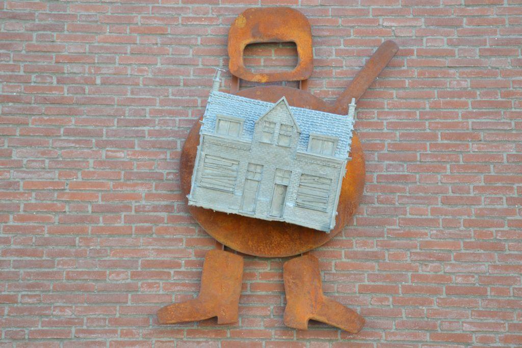 Kunstwerk Piersonstraat Nijmegen