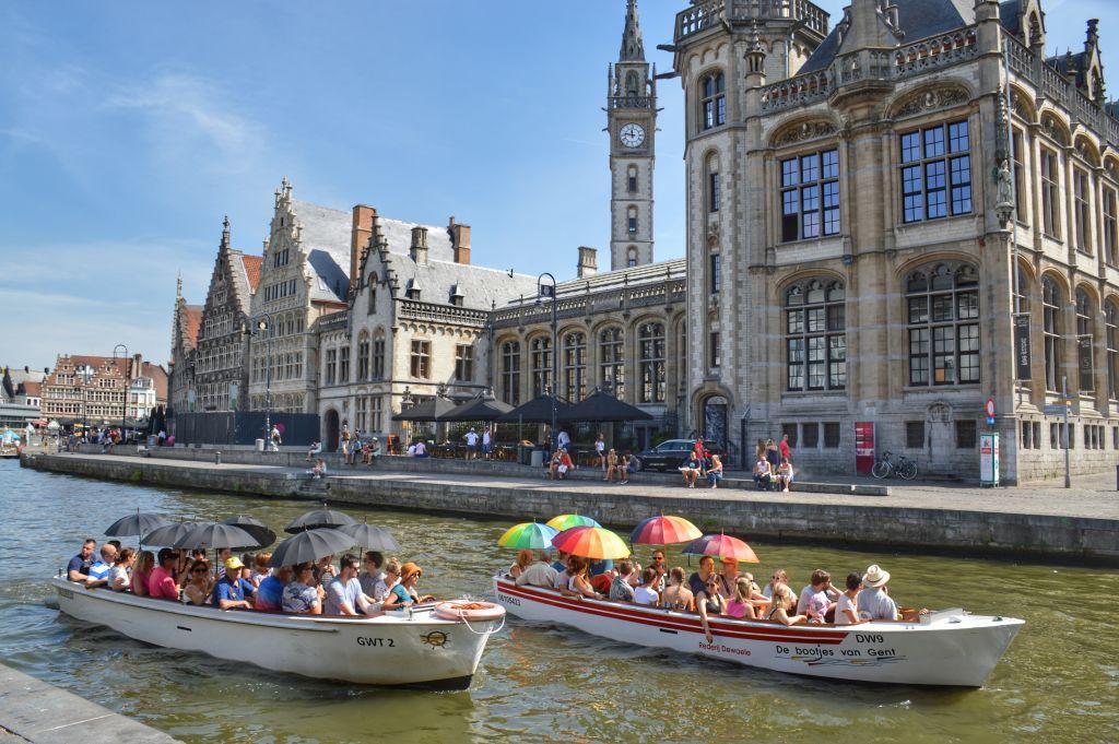 Gent in de zomer