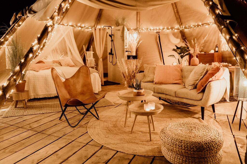 Luxe kamperen Parc Buitengewoon Limburg