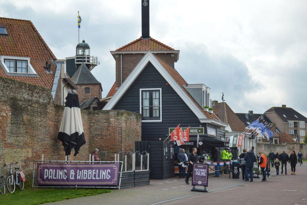 De boulevard van Harderwijk