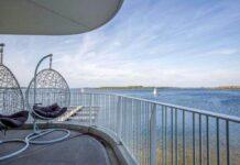 mooie hotels aan het water