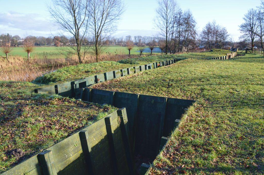 Loopgraven Grebbelinie Woudenberg
