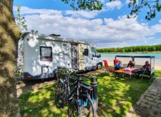 mooie camperplaatsen aan het water