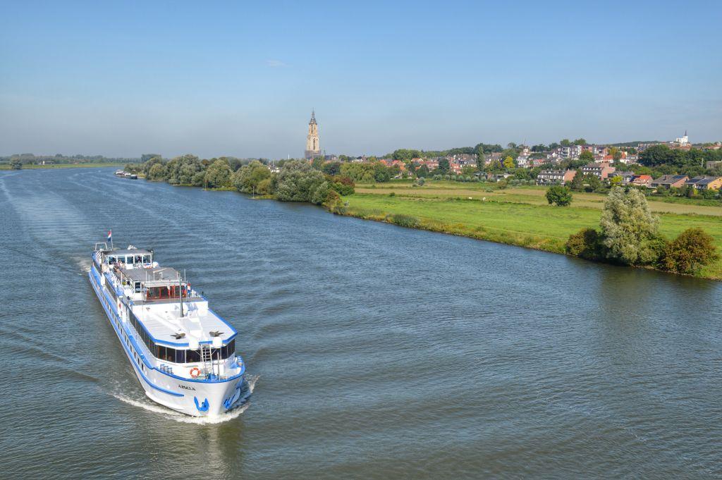 Mooie fietsroutes langs rivieren: de Nederrijn