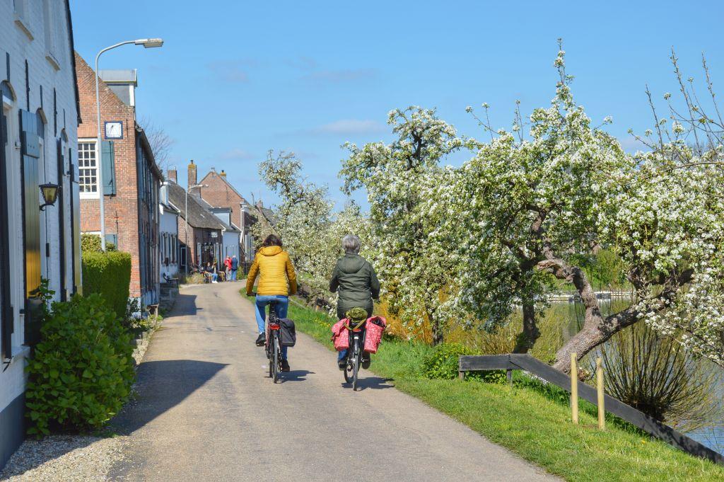 Mooie fietsroutes langs rivieren: de Lingeroute