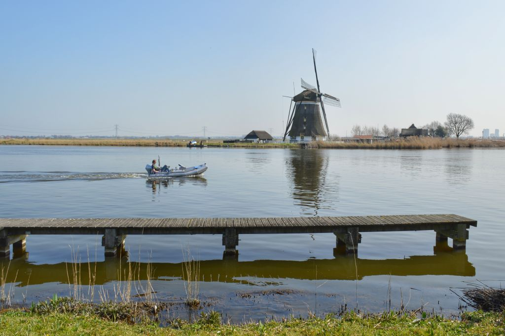 Mooie fietsroutes langs rivieren: de Rotte